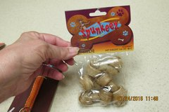Small Dog Collar & Mini Rawhide Chews -- All New! in Houston, Texas