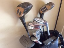 Vintage Golf Clubs--9 piece in Plainfield, Illinois