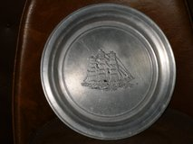 "wilton pewter tall ship plate 11"" in Lockport, Illinois"