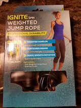Spri weighted jump rope new in Bolingbrook, Illinois