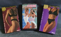 Lot of 4 VHS Workout Tapes by The Firm and NAC (National Aerobics Champions) + in Lawton, Oklahoma