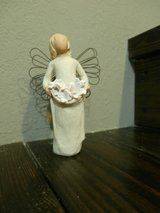 Willow tree angel of spring in Cleveland, Texas