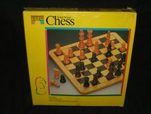 Chess Set Wood NEW in St. Charles, Illinois