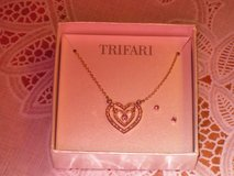 new trifari necklace & earrings in Plainfield, Illinois