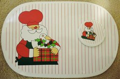 Beautiful Christmas Placemats and matching Coasters-set of 4 in Chicago, Illinois