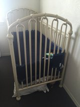 Beautiful Rod Iron Crib and matching changing table in Fairfield, California