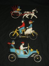 Vintage Horse & Buggy Bike for 2 Auto Wall Decor in Bolingbrook, Illinois