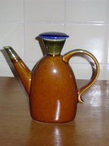 "sm. teapot w/blue top-6-1/2""h in Chicago, Illinois"