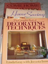 3 decorating books in Glendale Heights, Illinois