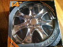 wheel covers 14 inch chrome new in Orland Park, Illinois