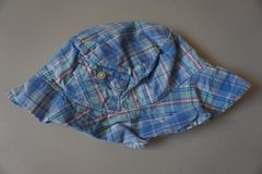 Boys Ralph Lauren Blue Plaid Infant Hat in Bolingbrook, Illinois