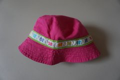Girls Carters Pink Butterfly Sun Hat Size 2T-4T in Bolingbrook, Illinois