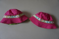 Girls Carters Pink Butterfly Sun Hat Size 4-6x in Bolingbrook, Illinois