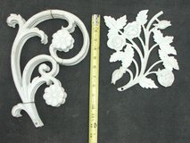 Decorative Cast Iron Flower Display Sections in Naperville, Illinois