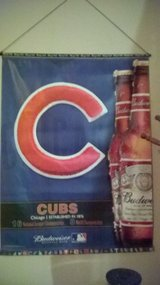 CUBS Budweiser Beer Banner in Naperville, Illinois