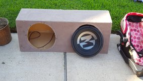 Custom made Kicker Box and Memphis Audio in Kingwood, Texas