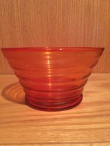 Orange Candy Dish Bowl Decor in Plainfield, Illinois