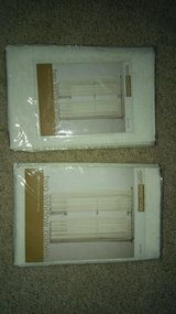 63 inch window panels 2 per package NIP in Naperville, Illinois