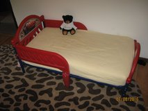Toddler bed with mattress, Cars theme in Chicago, Illinois