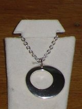 silver circle necklace in Lockport, Illinois
