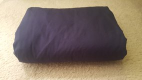 King fitted navy bed sheet in Chicago, Illinois