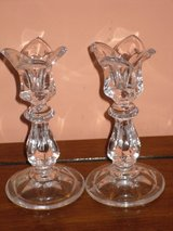 gorham full lead crystal candlesticks in Chicago, Illinois