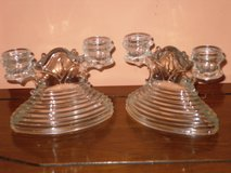 vintage art deco dbl candlesticks in Naperville, Illinois