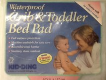 Kid-Ding Waterproof Crib & Toddler Bed Pad in The Woodlands, Texas