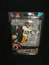 NFL Robert Griffin III Washington Redskins Figurine by McFarlane NEW in Naperville, Illinois