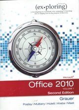 Office 2010 Volume 1 Second Edition $15.00 in Cherry Point, North Carolina