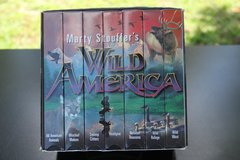 Marty Stouffers Wild America Video Collection $5.00 Reduced! in Cherry Point, North Carolina