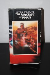 Star Trek Movies VHS $4.00 Reduced! in Cherry Point, North Carolina