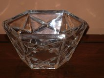 hexagon crystal nut bowl in Bolingbrook, Illinois