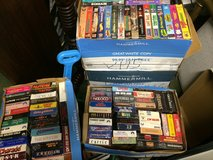 Many, many VHS tapes in great condition. Excellent pricing. in Warner Robins, Georgia