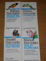 4 peterson field guides in Naperville, Illinois