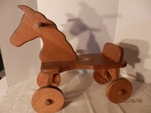 Wooden Horse in Joliet, Illinois
