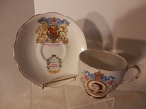 Queen Elizabeth Coronation Cup and Saucer in Plainfield, Illinois