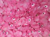 NEW pink Bears -decorations in Okinawa, Japan