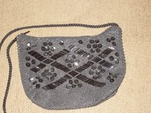 blk beaded purse 7-1/2x5-1/2 in Naperville, Illinois