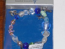 "NIB beaded bracelet ""silent night"" theme in St. Charles, Illinois"