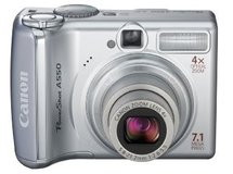 Canon PowerShot A550 7.1MP Digital Camera with 4x Optical Zoom in Algonquin, Illinois