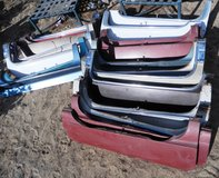 Lot of 18 1950's-1960's Vintage Cadillac Fender Skirts in Yucca Valley, California