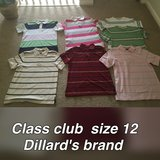 Boy Polo t-shirt size 12 in Houston, Texas
