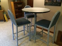 Pub table and 3 chairs in Joliet, Illinois