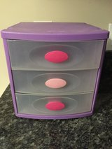 Purple Pink Sterilite Plastic Storage Container in Aurora, Illinois