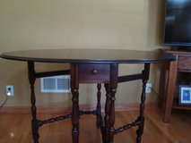 GateLeg Table with drawer in Bolingbrook, Illinois