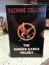 The. Hunger Games Triology  by:Suzanne Collins in Naperville, Illinois