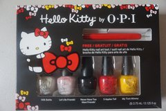 Hello Kitty by OPI x3 in Plainfield, Illinois