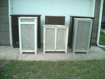 6 steel radiator covering boxes in good condition in Joliet, Illinois