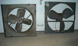 2 whole house fans in good condition in Joliet, Illinois